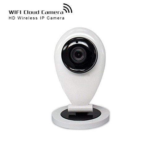 Shengyaohul Full HD 720P Ip Sistema De Cámaras De Vigilancia, Indoor White Ip Security Camera Cámara Ip With Alarma De Vídeo / Interfono / Infrarrojos De Visión Nocturna Cámara De Vigilancia Wifi