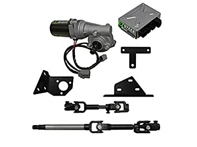 SuperATV EZ-Steer Power Steering Kit: Powersport Power Steering Kit to Eliminate Bump Steer - Compatible with Polaris Ranger 570 MIDSIZE 2016+ Models - ATV and UTV Steering Accessories and Parts