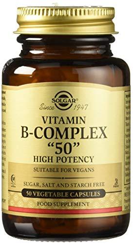 Solgar Vitamin B-Complex ''50'' Vegetable Capsules - Pack of 50