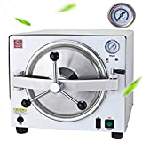 BoNew Automatic 18L Autoclave Steam Sterilizer Machine For Lab Beauty Equipment 110V