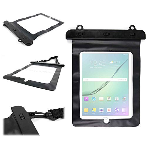 Duragadget - Custodia impermeabile per Samsung Galaxy Tab S5e / S5e LTE 10.5' T720/T725 (4G), Tab S4 10.5' T830, Galaxy Tab S2 / S2 VE 9.7' e Tab A 10.1 (2016) Tablet 10.1