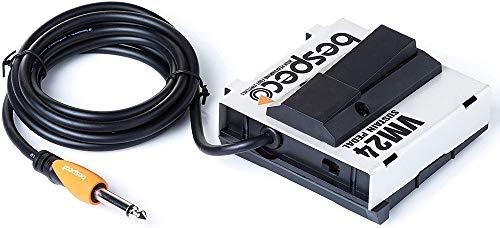 BESPECO VM24 - Pedale sustain unlatch, cavo 2 mt