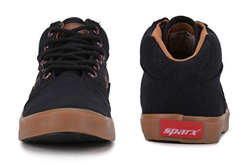 Product Image 4: Sparx Men's SC0282G Black Tan Sneakers 6