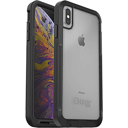 OtterBox Pursuit Series Case for iPhone Xs MAX (ONLY) - Retail Packaging - Black/Clear