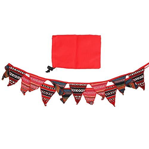 Cosiki Banderas de decoración para Acampar, banderín de Nailon con vitalidad de Estilo Nacional, diseño Especial para Deportes Extremos al Aire Libre