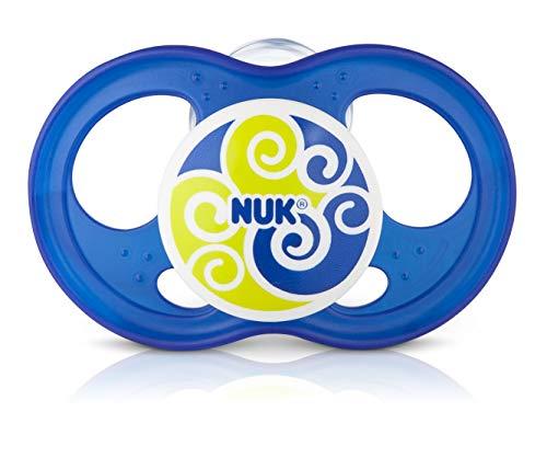 Chupeta Infinity Boy Classic S2 - NUK, Azul, Tam 2 (6-18 Meses)