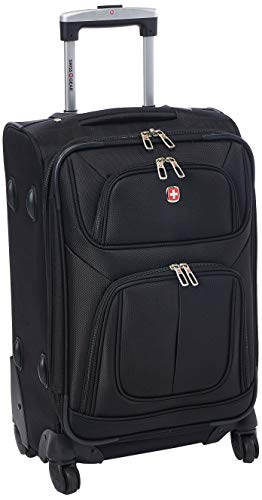 SwissGear Sion Black, 21' Carry-On Spinner