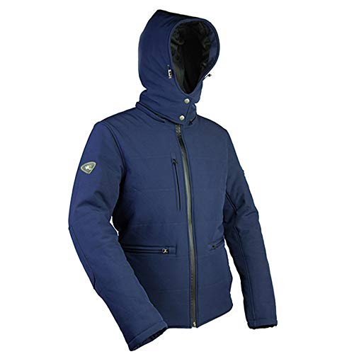 "Windsoroyal - Motorradjacke ""Dartmouth"" für Damen, Winterjacke, Blau, S"