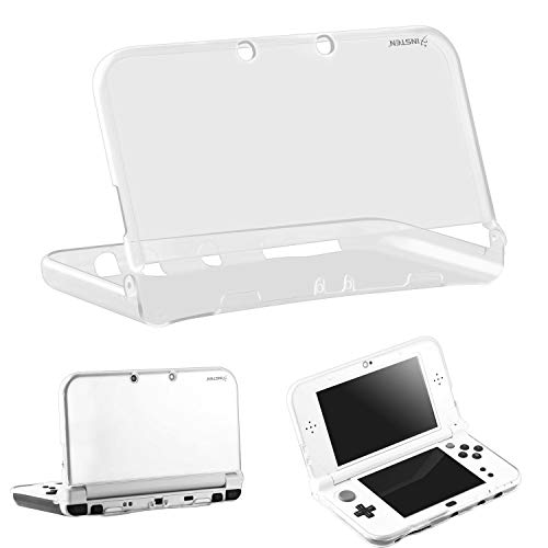 For New 3DS XL Case by Insten Ultra Clear Crystal Transparent [Soft TPU] Slim Fit Protective Anti-Scratch Carrying Travel Cover Skin Clear Case compatible with New Nintendo 3DS XL 2015 / 3DS LL 2015