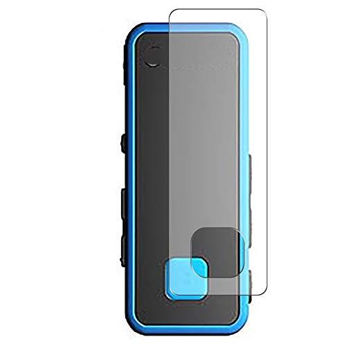 Vaxson 3 Stück Anti Blaulicht Schutzfolie, kompatibel mit Transcend MP350 TS8GMP350B, Displayschutzfolie TPU Folie Bildschirmschutz [nicht Panzerglas Hülle Case ]