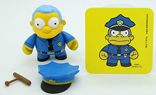 Kidrobot Vinyl Mini Figure - Simpsons S1 Chief Wiggum 1/24