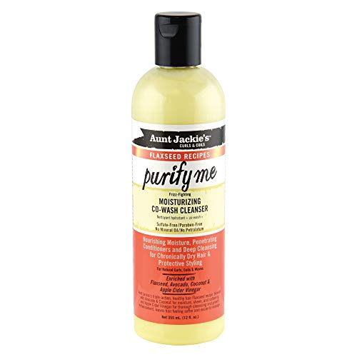 Aunt Jackies Curls and Coils Moisturising Co-Wash Cleanser 355 ml