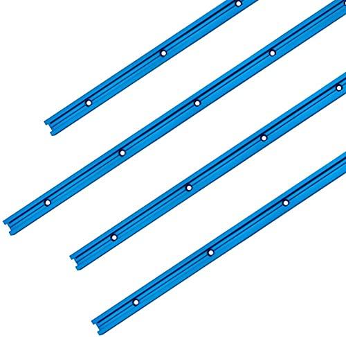 POWERTEC 71371 Double-Cut Profile Universal T-Track (24
