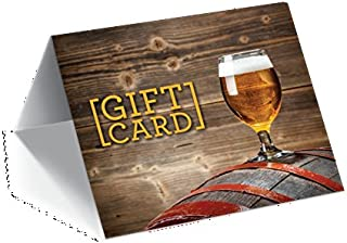 Gift Card Presenters (Barrel and Chalice) 100 Pack