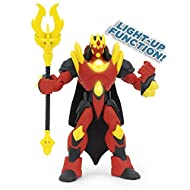 Complete with articulation and attack function! 1 Token (Lord Voidus without) Lord Voidus comes with mini figure Character code to use with Gormiti App Perfect replica of the characters from Gormiti animated TV series!