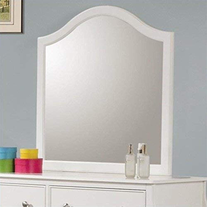 Coaster Home Furnishings 400564 Traditional Mirror, White