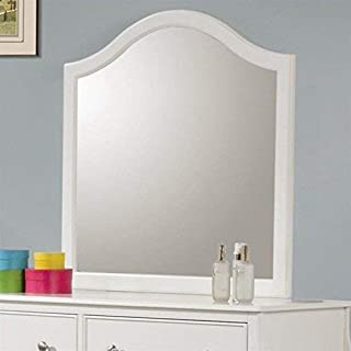 Coaster Home Furnishings Dominique Dresser Mirror, White