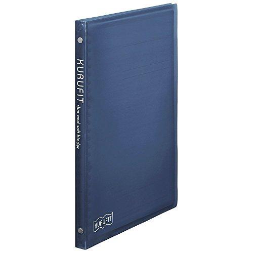 マルマン ファイルノート クルフィット B5 26穴 ブルー F020-02 【まとめ買い5冊セット】