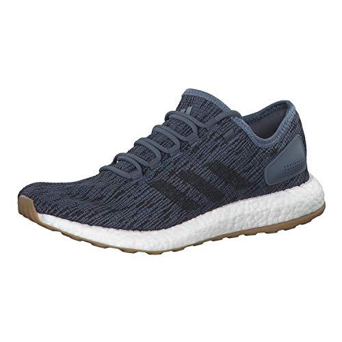 adidas Pureboost, Scarpe Running Uomo, Grigio (Rawste/Carbon/Shoyel Rawste/Carbon/Shoyel), 41 2/3 EU