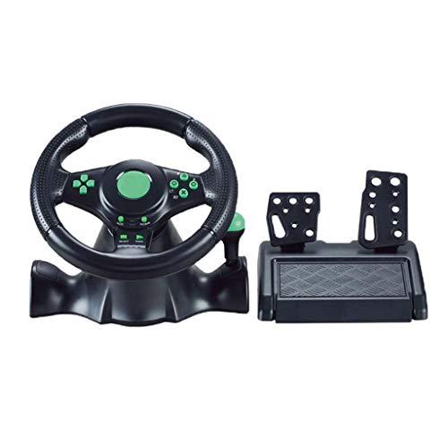 Shiwaki Simulatore di Guida Reale da Corsa, Volante da Gioco di Corse Automobilistiche con