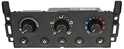 ACDelco 15-73557 GM Original Equipment Heating and Air Conditioning Control Panel with Rear Window Defogger Switch