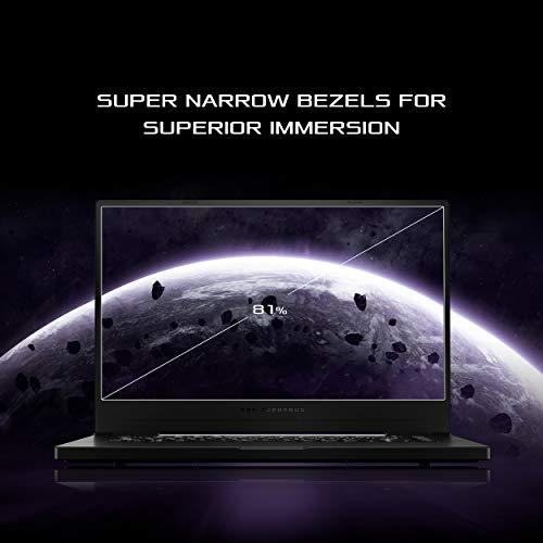 "ROG Zephyrus G15 Ultra Slim Gaming Laptop, 15.6"" 240Hz Pantone Validated FHD Display, GeForce RTX 2060 Max-Q, AMD Ryzen 9 4900HS, 16GB DDR4, 1TB PCIe SSD, Gig+ Wi-Fi 6, Windows 10 Home, GA502IV-PH96"