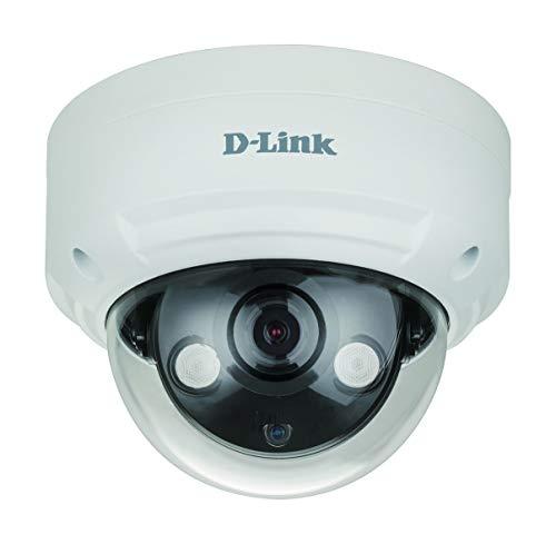 D-Link DCS-4614EK Cámara IP Dome Exteriores Vigilancia CCTV 2 megapíxeles H.265, resolución 1920 × 1080 píxeles, Visión Nocturna 30m, H.265, WDR, LowLight+, PoE, IP66, IK10, Ranura Micro SD, ONVIF