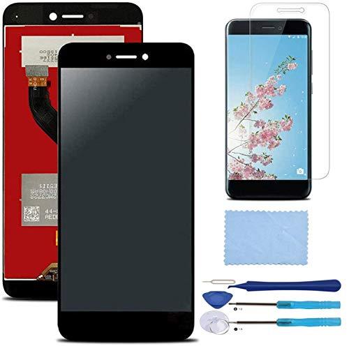 Pantalla LCD Táctil Asamblea Repuesto Compatible con Huawei P8 Lite Versión 2017 Negro con Herramientas + Película Templada Huawei P8 Lite 2017