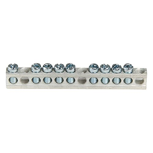 Square D PK9GTA - Square D Lighting Panelboard Ground Bar For NQOD Panel Board, 100 Amperes QO Main Breaker Load Center
