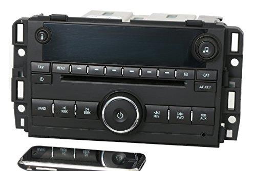 1 Factory Radio AM FM CD w Bluetooth Radio Compatible with 2007-13 Chevy GMC Truck Van 25941137