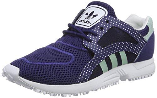 adidas Damen Racer Lite W Laufschuhe, Blau (Ngtsky/Frogrn/FTW), 40 2/3 EU