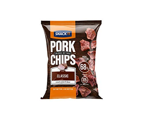 SNACK it Pork Chips Classic, 25 g