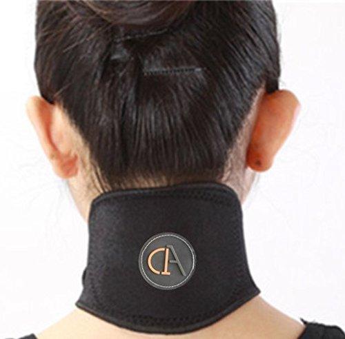 Magnetische Halskrause für Damen und Herren gegen chronische Nackenverspannungen und Kopfschmerzen von A1A