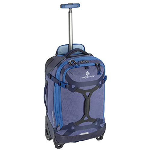 Eagle Creek Gear Warrior Carry Luggage Softside 2-Wheel Rolling Suitcase, Arctic Blue