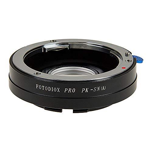 Fotodiox Anillo Adaptador para Pentax K (PK) Lente para Sony Alpha Cámara...