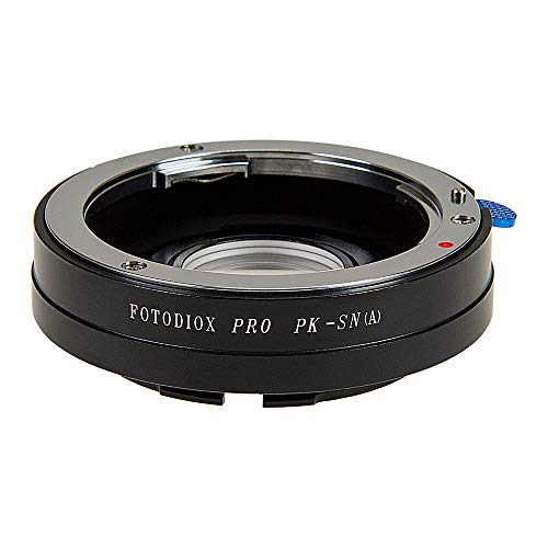 Fotodiox Anillo Adaptador para Pentax K (PK) Lente para Sony Alpha Cámara (Minolta)