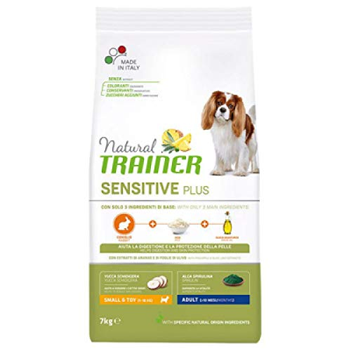 Trainer Natural Sensitive Plus Mini Adult Coniglio 7 kg
