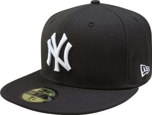 MLB New York Yankees Authentic On Field Game 59FIFTY Cap, 7 1/2, Black Authentic Fitted Hat Game