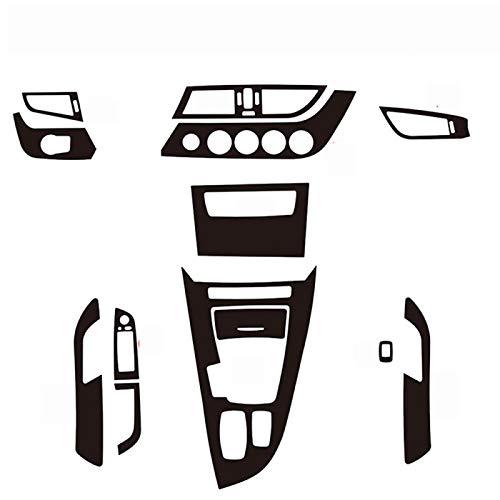 Ztuaalui para BMW Z4 E89 2009-2016 Panel de Control Central Interior manija de Puerta 5D 3D Pegatinas de Fibra de Carbono calcomanías Accesorios de Estilo de Coche