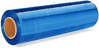 6 Rollen Stretchfolie 23my 500mm - ca. 2,4kg Palettenfolie Handfolie Wickelfolie BLAU EUR 3,125 / kg