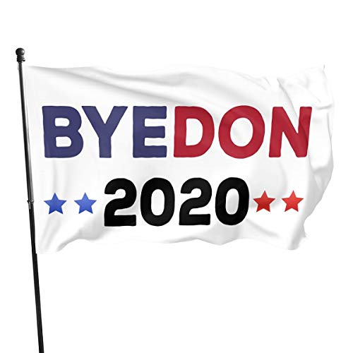 Larerh Byedon 2020 Flag 3x5 Foot Durable and Fade Resistant,Perfect for Any Balcony Or Courtyard, Garden Decorative Banner