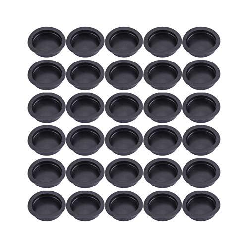 Garneck - Tapones de goma para hucha (100 unidades, cierre de tapones para hucha, yeso, figura)