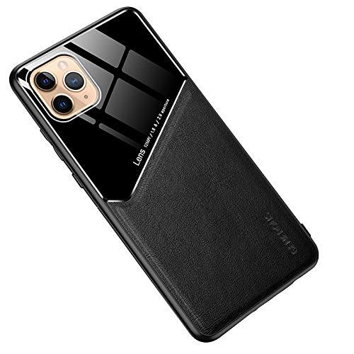 Funda iPhone 12, Estuche para teléfono con todo incluido de grano de cuero magnético de iPhone 12 con Protección Avanzada contra Caídas y Tecnología de protección de colchón de aire,A,iphone 12
