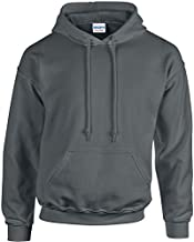 Gildan Men's Heavy Blend Hooded Sweatshirt - Charcoal ss18500 M
