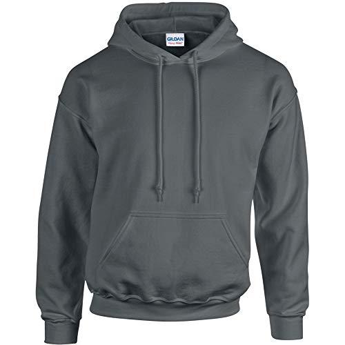 Gildan Men's Heavy Blend Hooded Sweatshirt - Charcoal ss18500 M