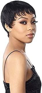 Sensationnel 100% Human Hair Celebrity Series Empire Wig TEVA (1B)