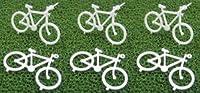 模型材料 BYC-50A アクリル自転車(1/50) 6個入り