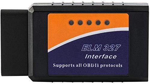 FREESOO Bluetooth OBD2 Herramienta de Escáner de Diagnóstico Coche Lector de Código Can-Bus Auto Accesorios OBDII Mini ELM327 para Android Windows Symbian Smartphone