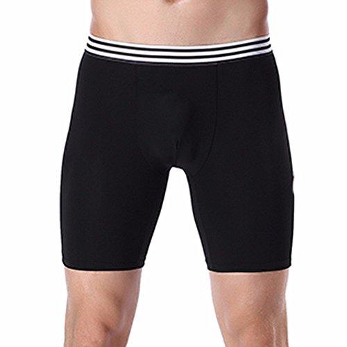 Willlly heren sportboxershorts katoen microvezel casual comfort chic zwembroek zwembroek zwart blauw grijs