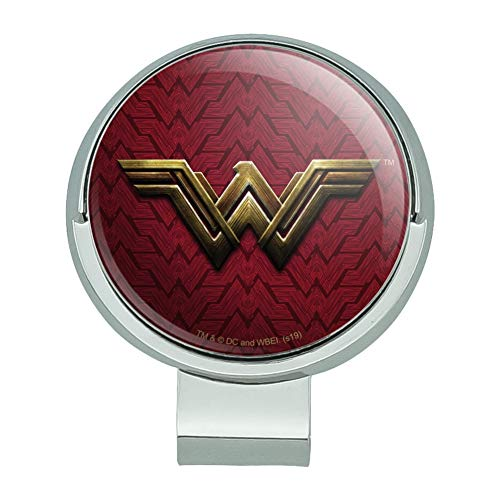 GRAPHICS & MORE Justice League Movie Wonder Woman Logo Golf Hat Clip with Magnetic Ball Marker